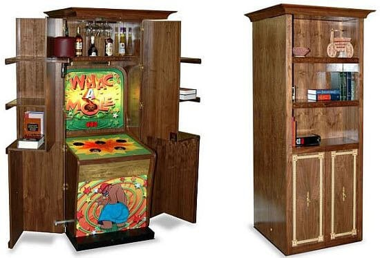 Personalized Whack-a-Mole Game, games, gaming, game, gadgets, expensive gadgets, high-tech