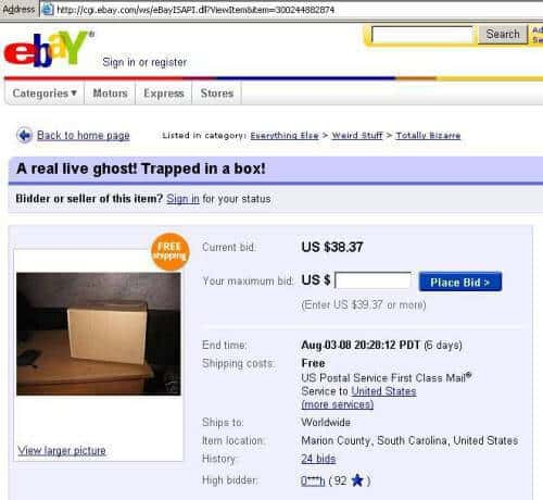 8 Weirdest Things Sold On Ebay You Never Knew Existed Shocking Cherry Oak