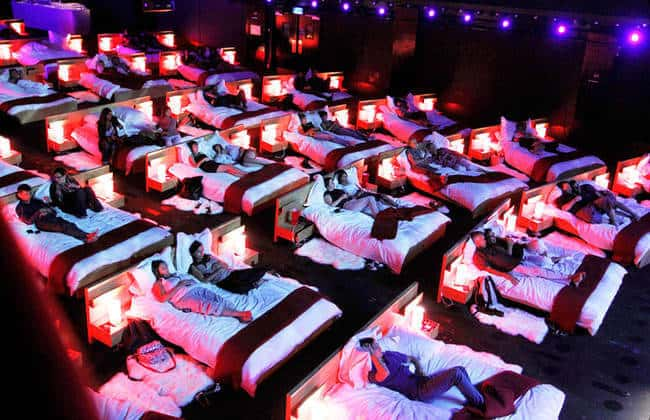 personal bed cinema
