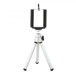 Mini Tripod for Mobile Phones/Cameras - Cherry & Oak