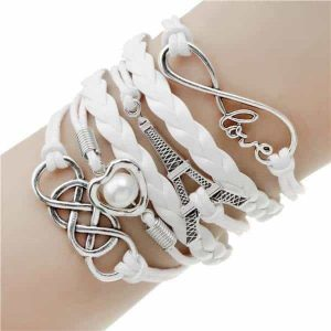 LOVE Charm Bracelet (10 Colors) - Cherry & Oak